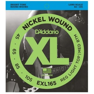 D'addario EXL165 Electric Bass Strings - 45-105