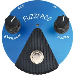 Jim Dunlop Silicon Fuzz Face Mini Distortion Pedal