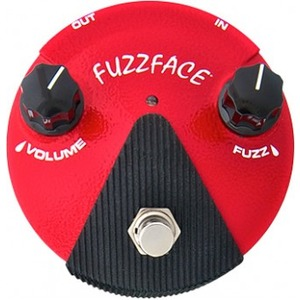Jim Dunlop Germanium Fuzz Face Mini Distortion Pedal