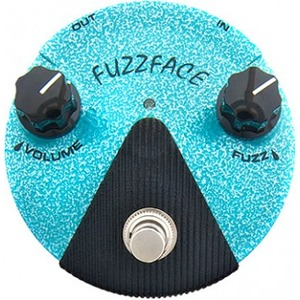 Jim Dunlop Jimi Hendrix Fuzz Face Mini Distortion Pedal