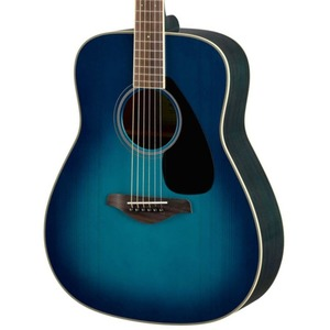 Yamaha FG820 Acoustic Guitar - Sunset Blue