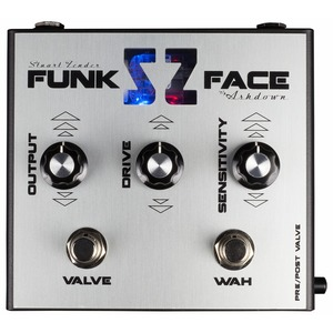 Ashdown Funk Face - Stuart Zender Signature Filter Pedal with Valve Drive