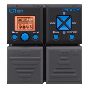 Zoom G1ON Electric Guitar Multi Effects Pedal With Expression Pedal
