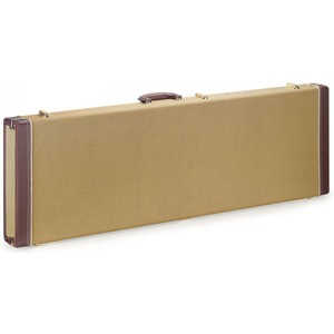 Stagg Wood Hardcase Tweed - Bass