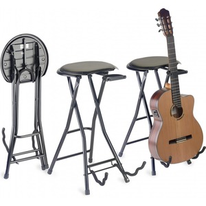 Stagg Foldable Guitar Stool and Stand