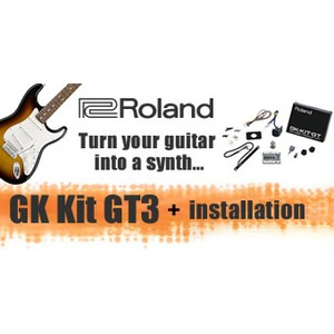 Roland GK Kit GT3 And Installation For STRATS