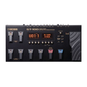 Boss GT-100 Multi Effects and Amp Modelling Pedal Version 2.0