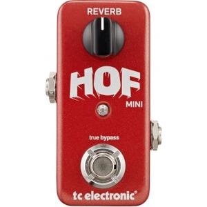 Tc Electronic Hall of Fame Mini Reverb Pedal