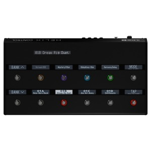 Line 6 Helix CONTROL - Floor Based Controller for the Helix RACK Guitar Effects Processor
