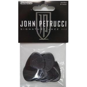 Jim Dunlop John Petrucci Jazz III Guitar Plectrums - 6 Pack
