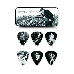 Jim Dunlop Pick Tin - Elvis The King
