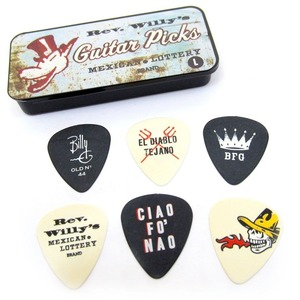 Jim Dunlop Pick Tin - Rev Willy