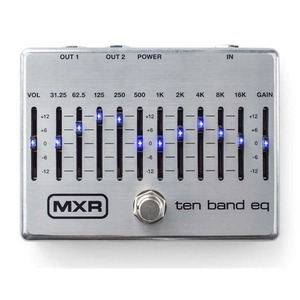 MXR M108S 10 Band Graphic EQ - SILVER