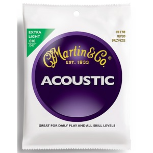 Martin M170 - Bronze Acoustic Strings - 10-47