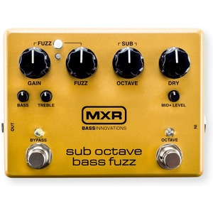 Mxr M287 Sub Bass Octave Fuzz