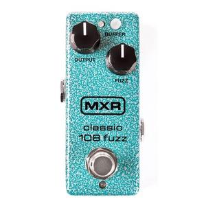 Mxr M296 Classic 108 Fuzz Mini Pedal