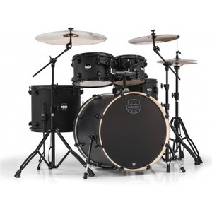 "Mapex Mars Drum Kit Inc. Hardware 22"" Rock Fusion - Nightwood"