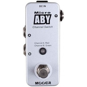 Mooer Micro ABY Switcher Pedal