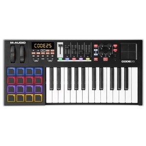 M-audio CODE 25 (Black) - USB MIDI Controller Keyboard