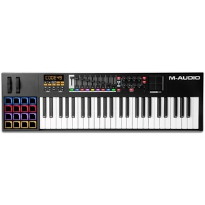 M-audio CODE 49 (Black) - USB MIDI Controller Keyboard