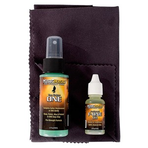 Music Nomad Guitar Care Kit 3-Pack - Guitar One / F-One / Micro Fibre Cloth