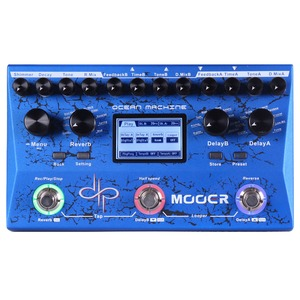 Mooer Ocean Machine - Delay, Reverb and Looper Pedal