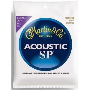 Martin MSP3050 - Bronze Acoustic Strings - 11-52