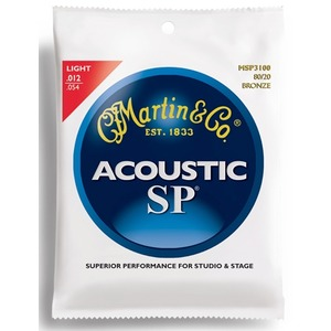 Martin MSP3100 - Bronze Acoustic Strings - 12-54