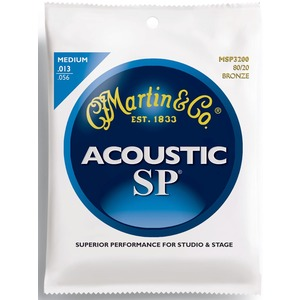 Martin MSP3200 - Bronze Acoustic Strings - 13-56