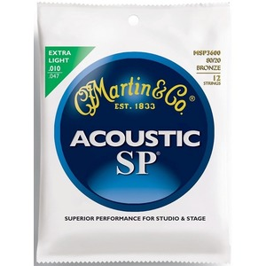 Martin SP Bronze Light 10-47 - 12 String Set
