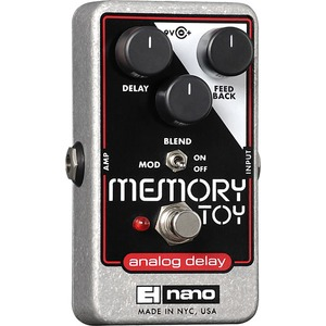 Electro Harmonix Memory Toy - Analog Delay Pedal with Modulation