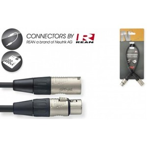 Stagg N-Series Female XLR - Male XLR Cable - 30cm