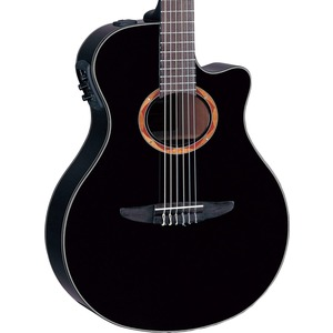 Yamaha NTX700 Electro Nylon Guitar - Black