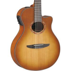 Yamaha NTX700 Electro Nylon Guitar - Sand Burst