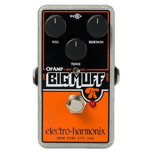 Electro Harmonix Op Amp Big Muff Overdrive Pedal