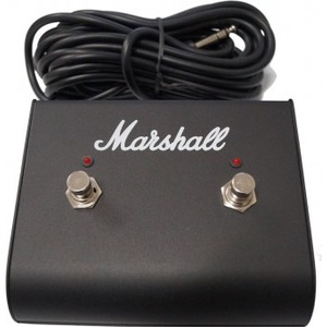 Marshall PEDL91003 Dual Latching Footswitch - WITH LEDs