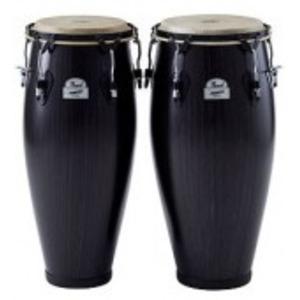 Pearl Primero Series Fibreglass Conga Set - Ebony