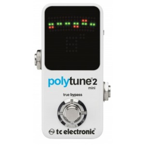 Tc Electronic Polytune 2 Mini Guitar Tuner Pedal