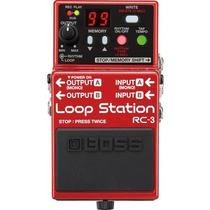 Boss RC3 Loop Station - Loop Pedal