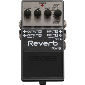 Boss RV6 Digital Reverb Pedal