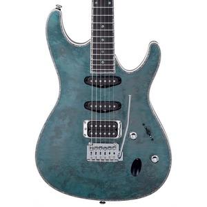 Ibanez SA560MB Electric Guitar - Aqua Blue Flat
