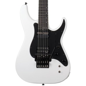Schecter Sun Valley SS-FR S Electric Guitar (Sustainiac Pickup) - Gloss White