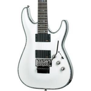Schecter Hellraiser C1 Floyd Rose EMG Active - White
