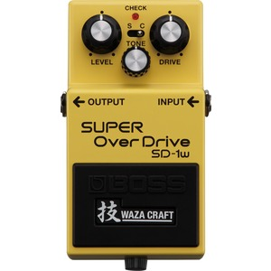 Boss SD-1w Super Overdrive Pedal - Waza Craft Series