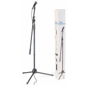Stagg SDM50 Microphone and Stand Package - XLR-XLR