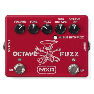 Jim Dunlop Limited Edition Slash Octave Fuzz Pedal - Ruby Red