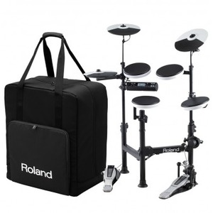 Roland TD-4KP Portable Electronic Drumkit and Carry Bag Package