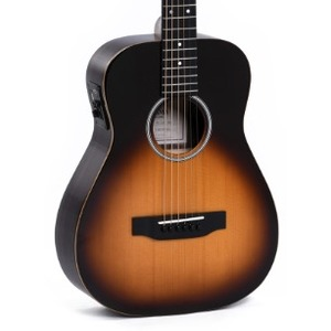 Sigma TT12E+ Travel Electro Acoustic Guitar Inc Gigbag - Sunburst