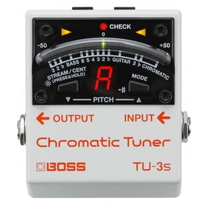 Boss TU3S Chromatic Pedal Board Tuner
