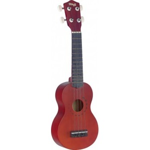Stagg US10 Soprano Ukulele with Tattoo Design